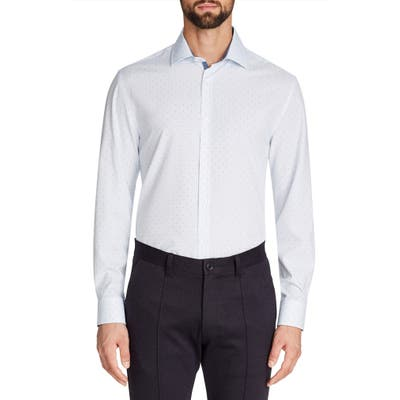 W.r.k Trim Fit Performance Dress Shirt - 35/36 - White