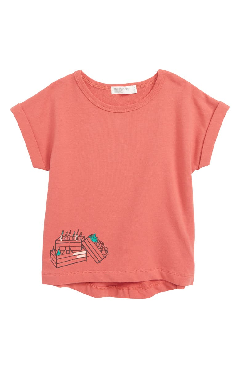 MILES BABY Wraparound Graphic T-Shirt, Main, color, 600