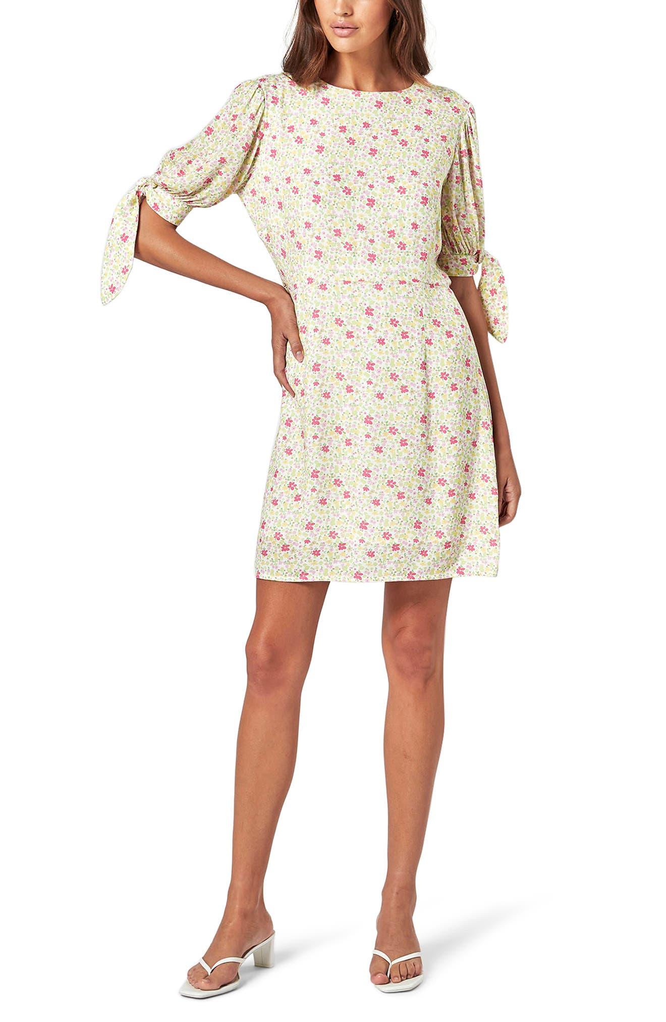 Bayside Floral Minidress