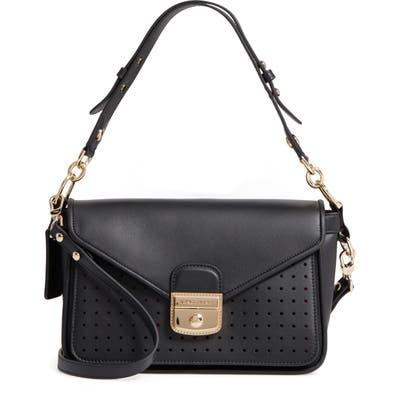 Longchamp Mademoiselle Calfskin Leather Crossbody Bag -