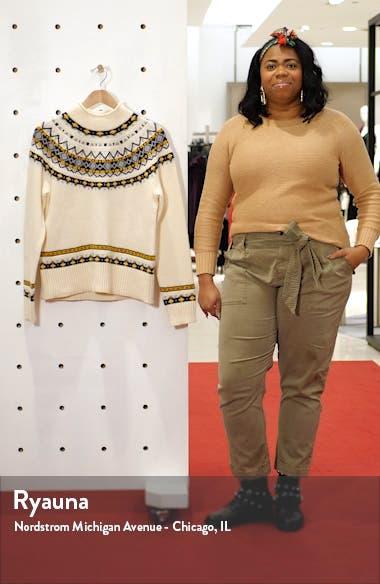 Fair Isle Rollneck Sweater, sales video thumbnail