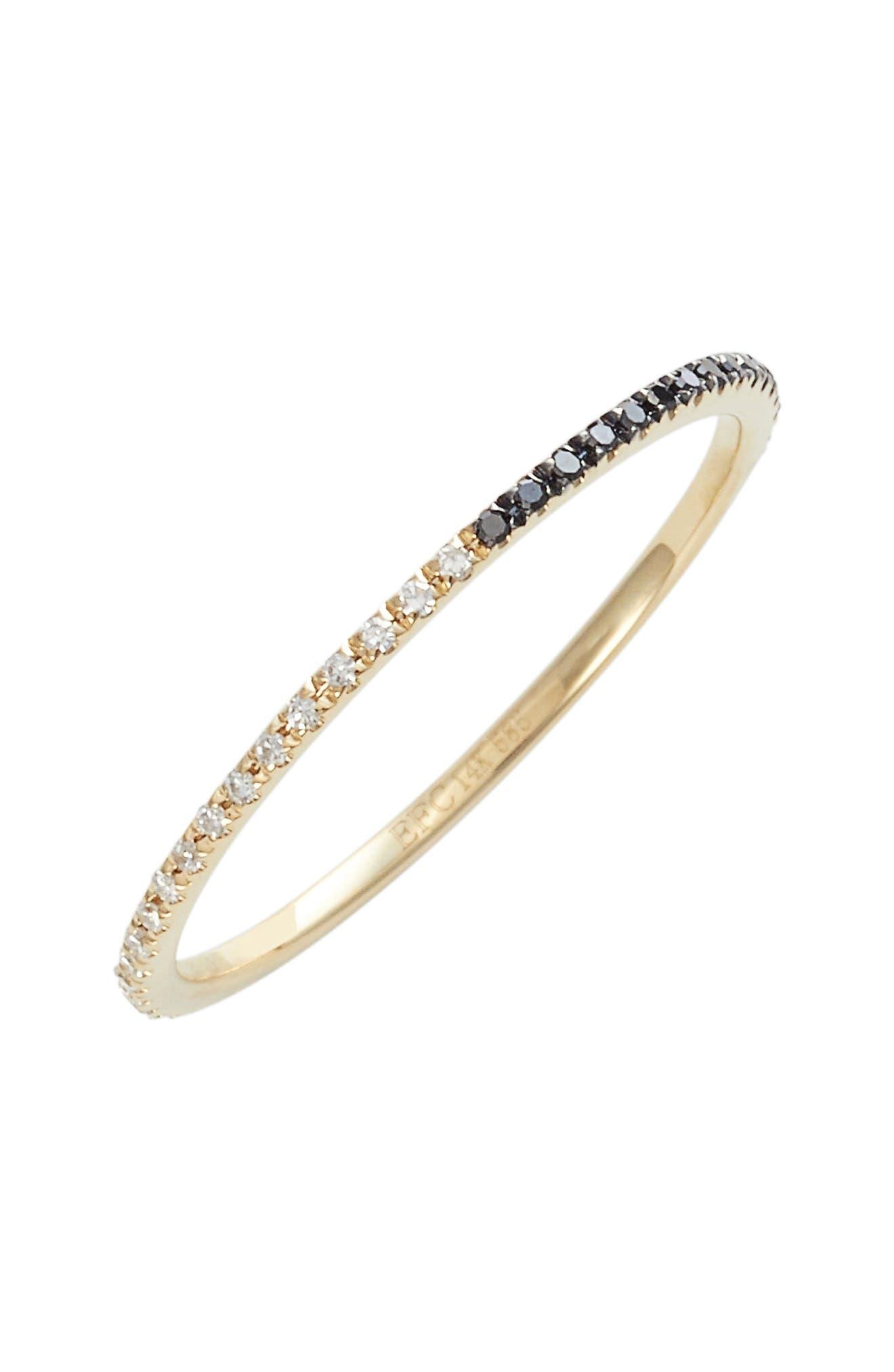 Two-Tone Diamond Eternity Ring