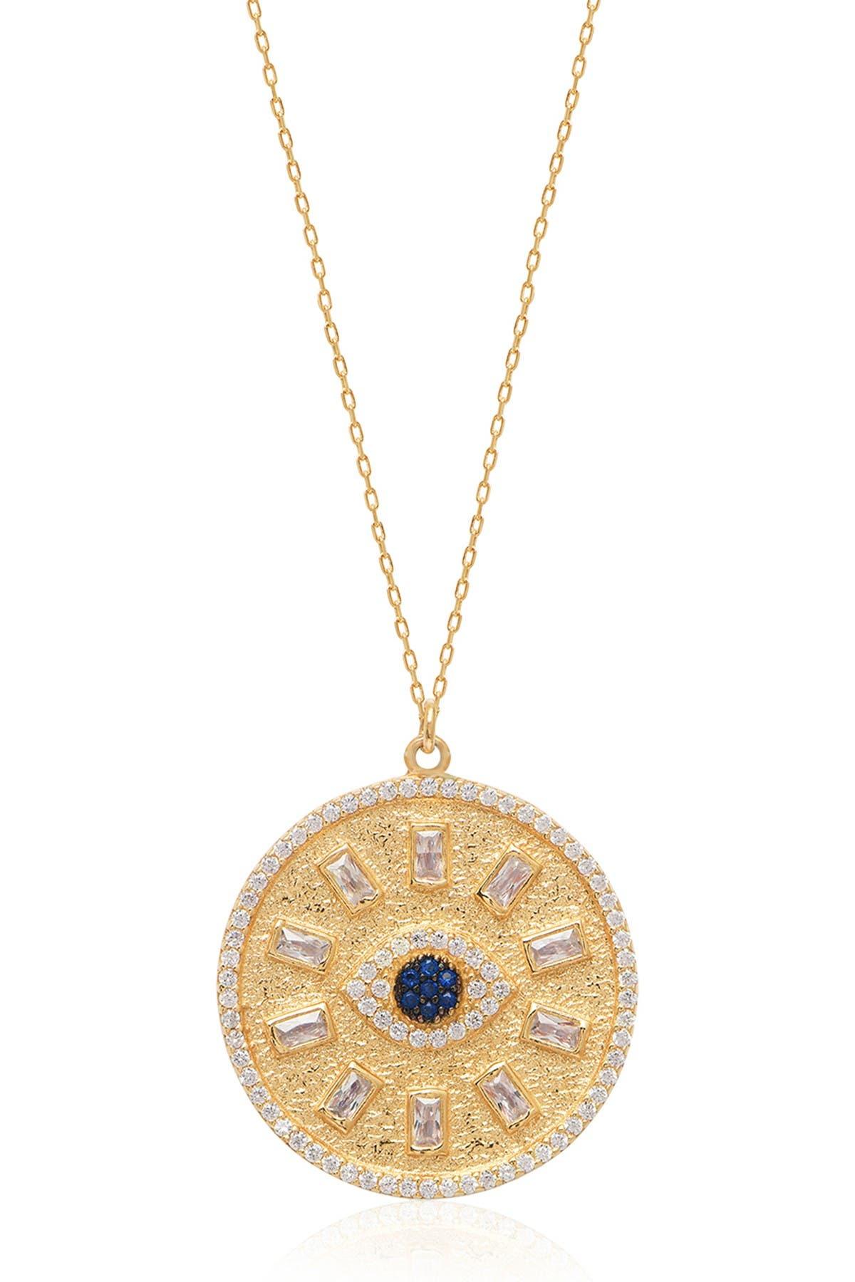 Image of Gabi Rielle Baguette & Evil Eye Necklace