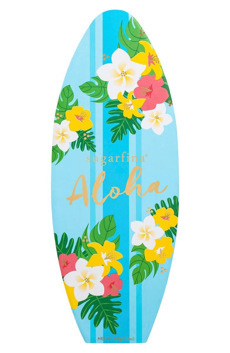 SUGARFINA Aloha 2-Piece Candy Bento Box, Main, color, BLUE