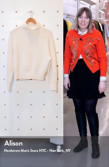 Mock Neck Cashmere Sweater, sales video thumbnail