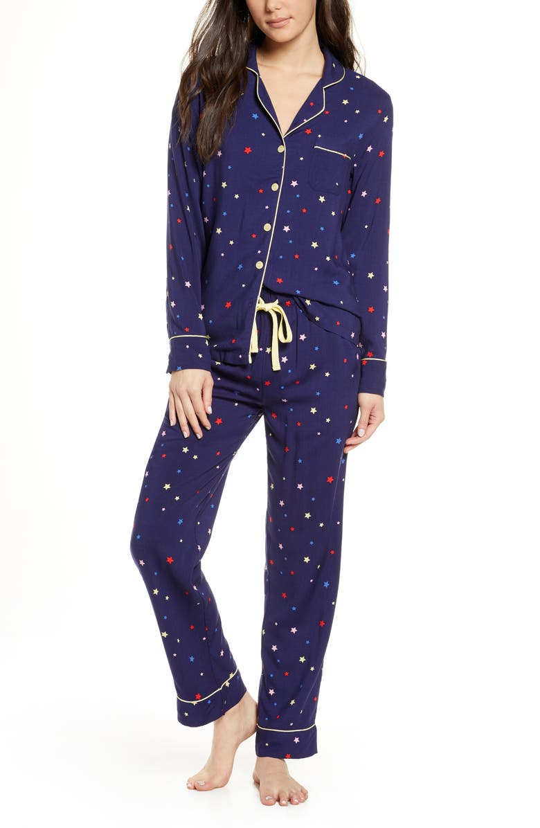 PROJECT REM Cosmic Dreamer Pajamas, Main, color, NAVY
