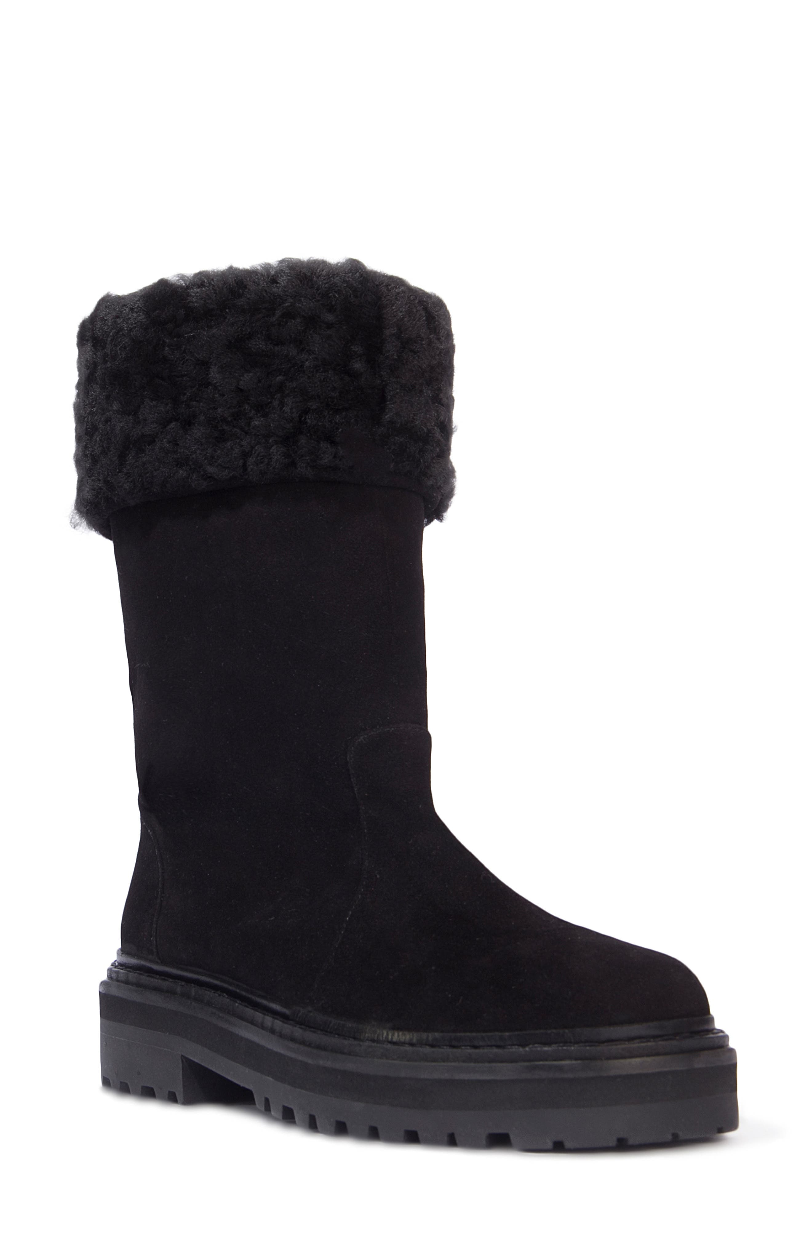 Dixie Genuine Shearling Boot