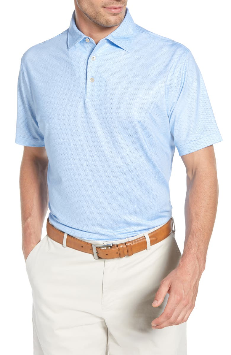 Watts Regular Fit Stretch Jersey Performance Polo by Peter Millar