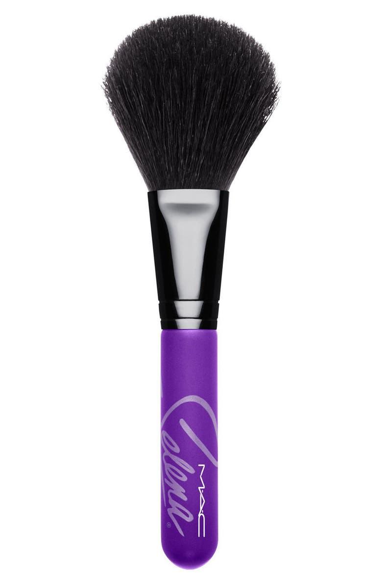 MAC COSMETICS MAC Selena 129SH Powder/Blush Brush, Main, color, 000