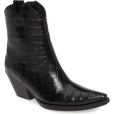 Jeffrey Campbell Defence 2 Western Boot, Black