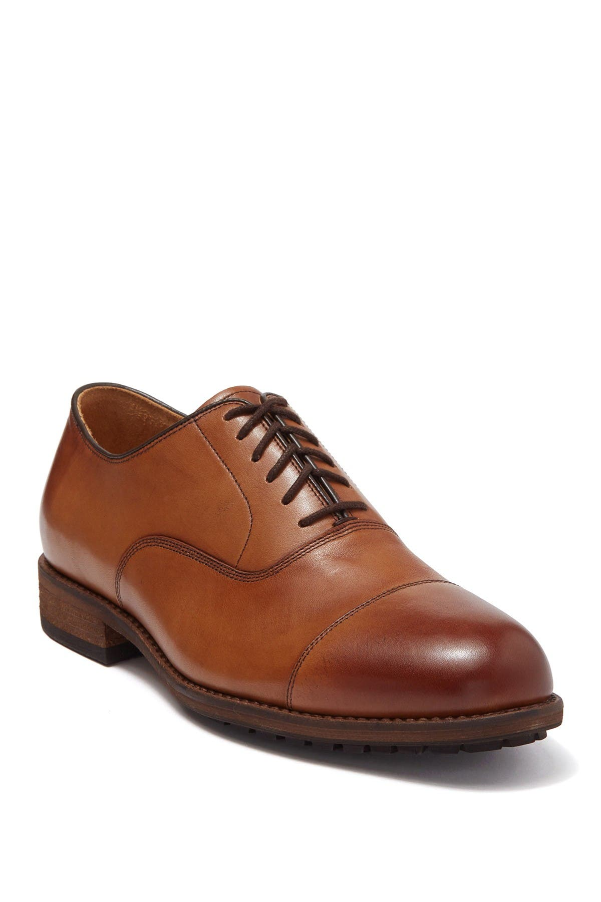 Image of Warfield & Grand Jamison Leather Cap Toe Oxford