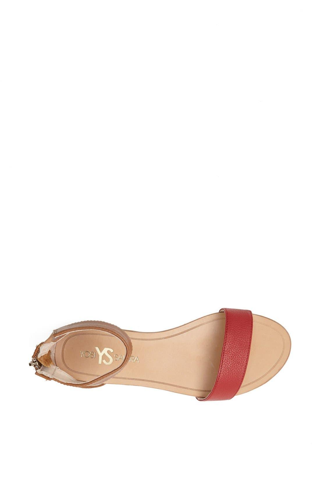 ,                             'Cambelle' Ankle Strap Sandal,                             Alternate thumbnail 31, color,                             210