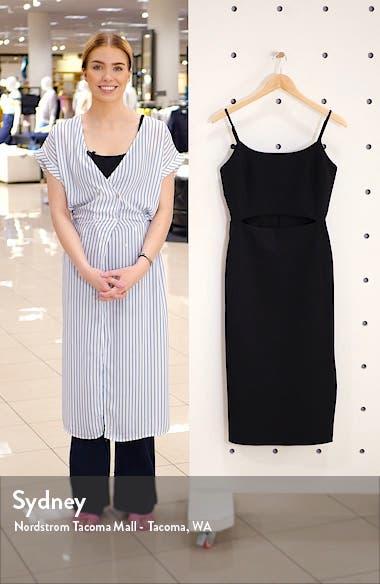 Lacy Cutout Midi Dress, sales video thumbnail