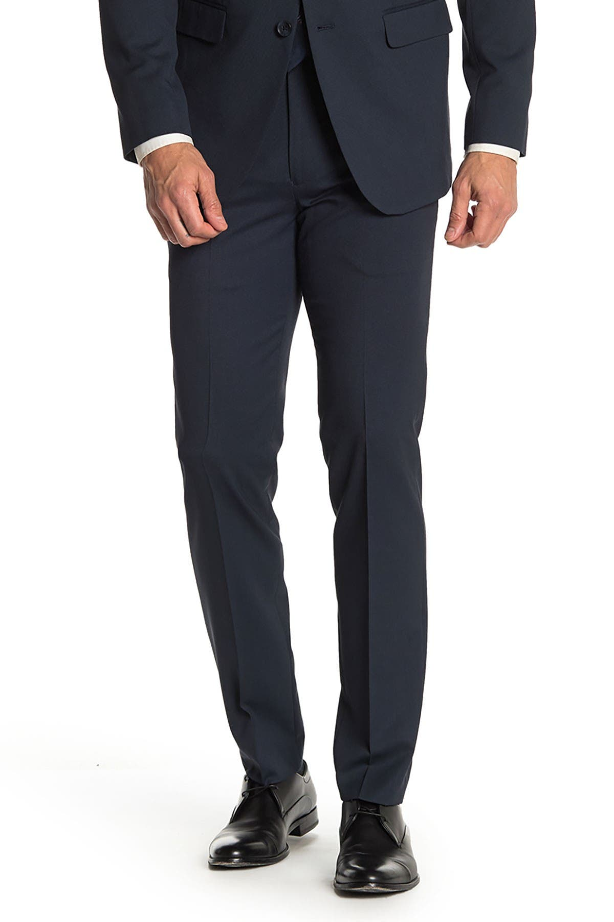 Image of Nordstrom Rack Solid Trim Fit Suit Separate Trousers