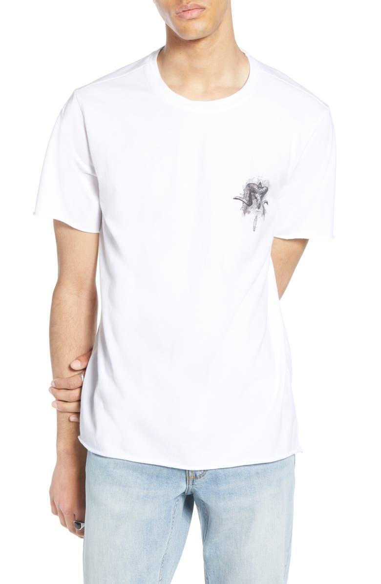 TREASURE & BOND Regular Fit Graphic T-Shirt, Main, color, 100
