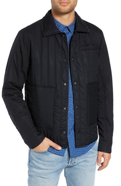 Image of The Rail Quilted Nylon Trucker Jacket