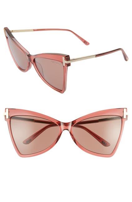 Image of Tom Ford Tallulah 61mm Cat Eye Sunglasses