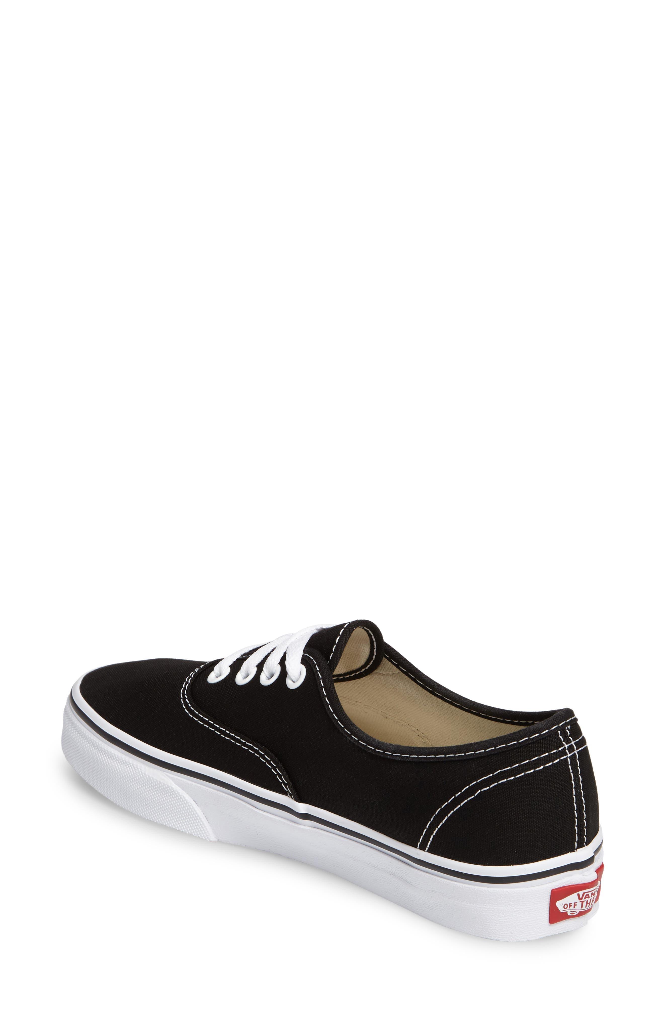 ,                             'Authentic' Sneaker,                             Alternate thumbnail 725, color,                             BLK