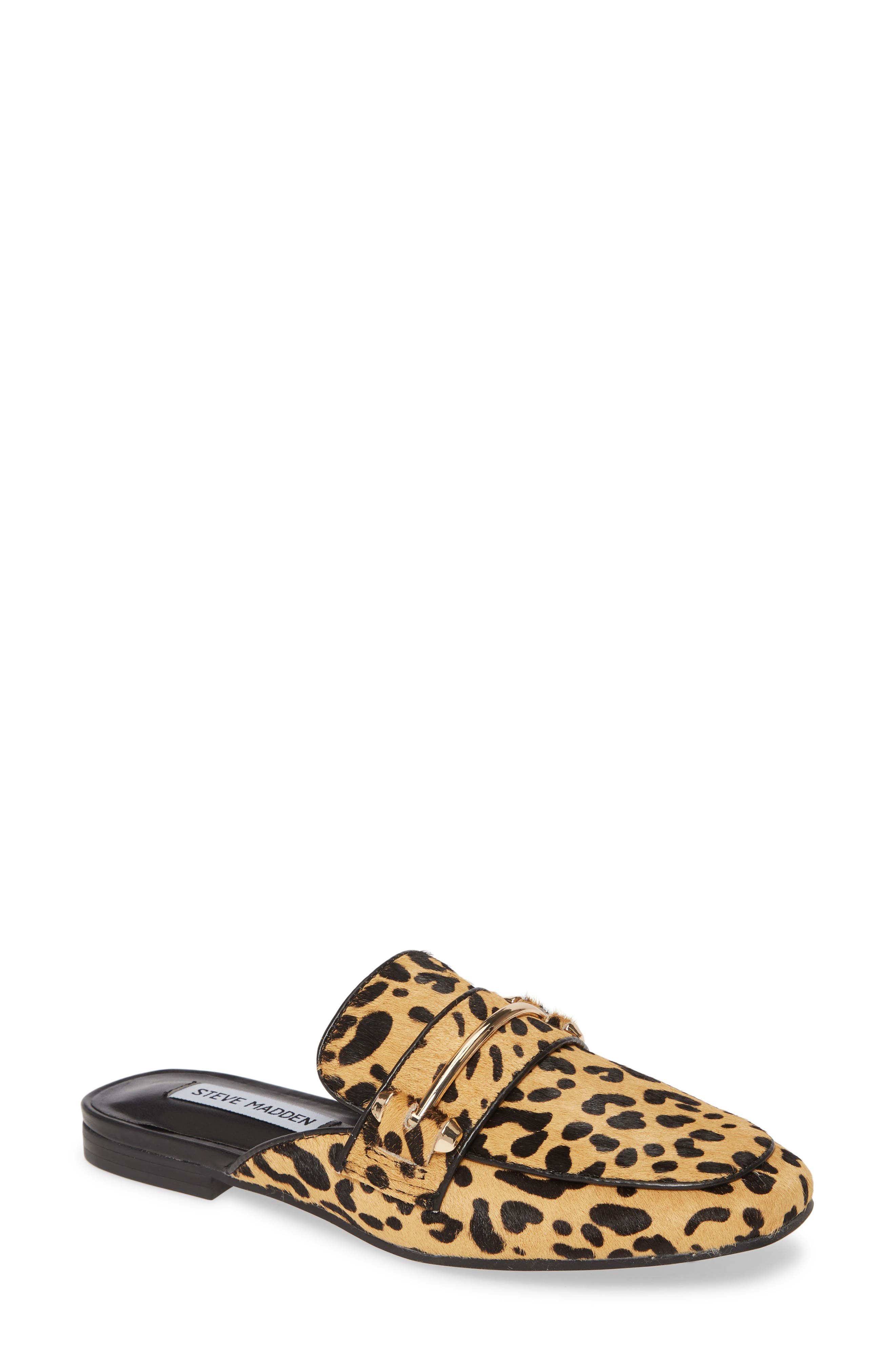 Steve Madden Kite Genuine Calf Hair Loafer Mule (Women)