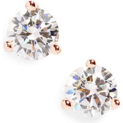 Nordstrom Round 0.50Ct Cubic Zirconia Earrings