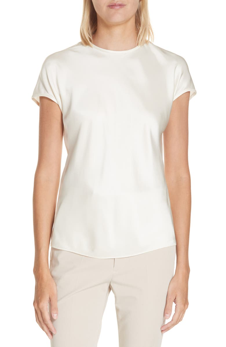 Satin Top by Helmut Lang