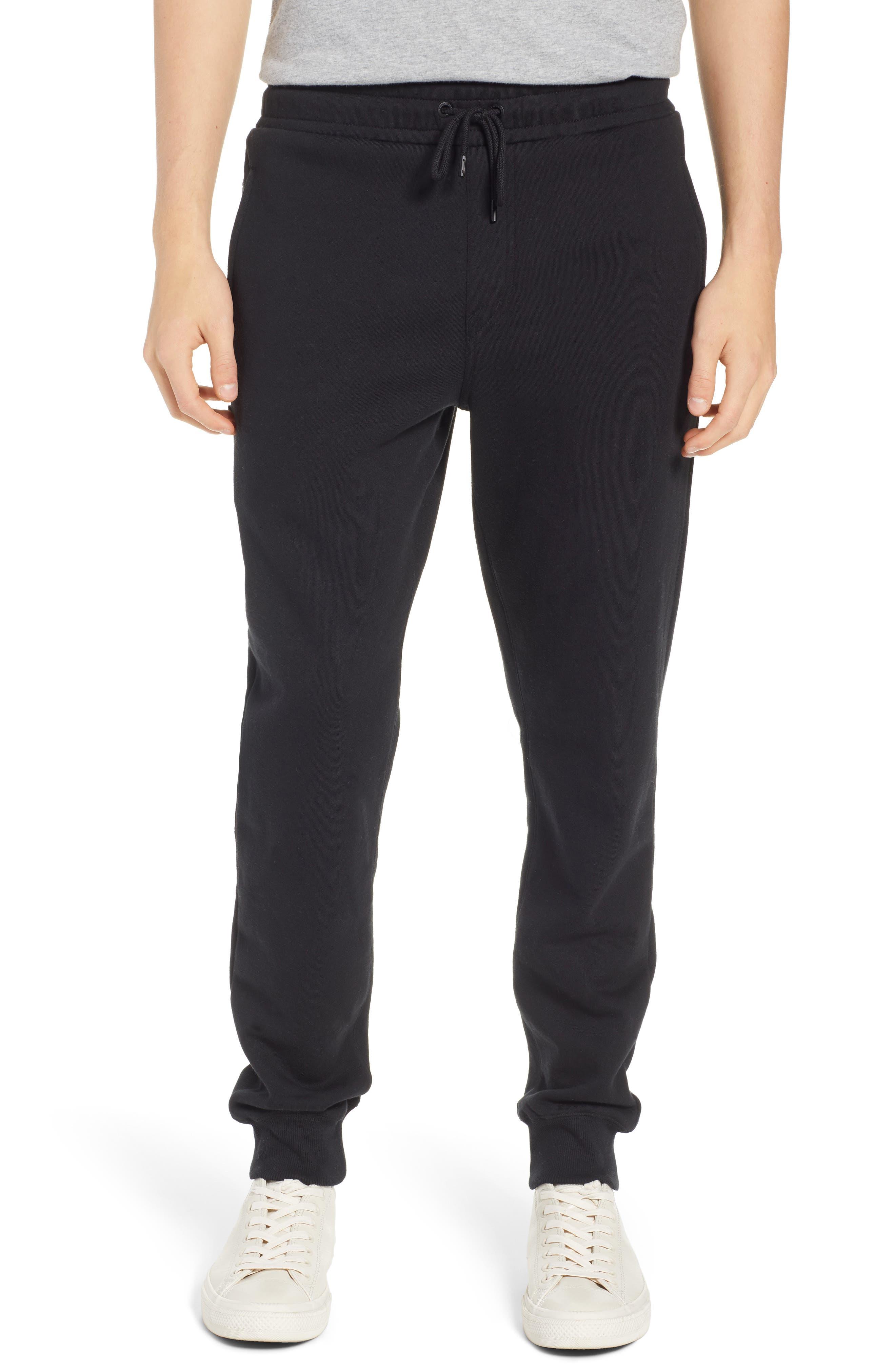 Volcom Single Stone Slim Fit Fleece Sweatpants