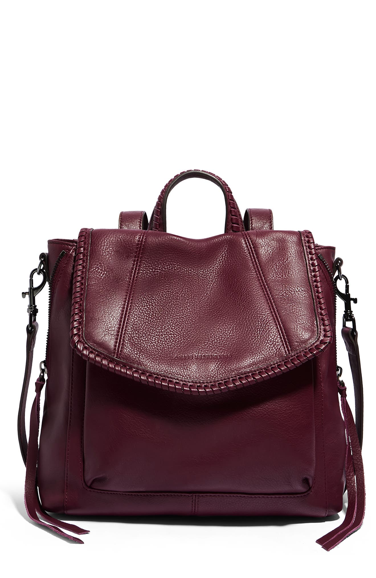 All For Love Convertible Leather Backpack