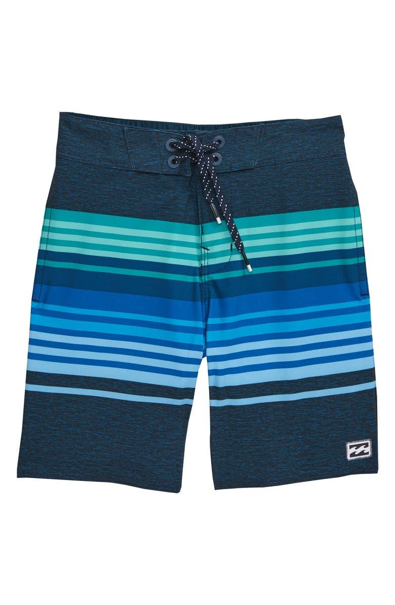 BILLABONG Spinner LT Board Shorts, Main, color, DARK BLUE