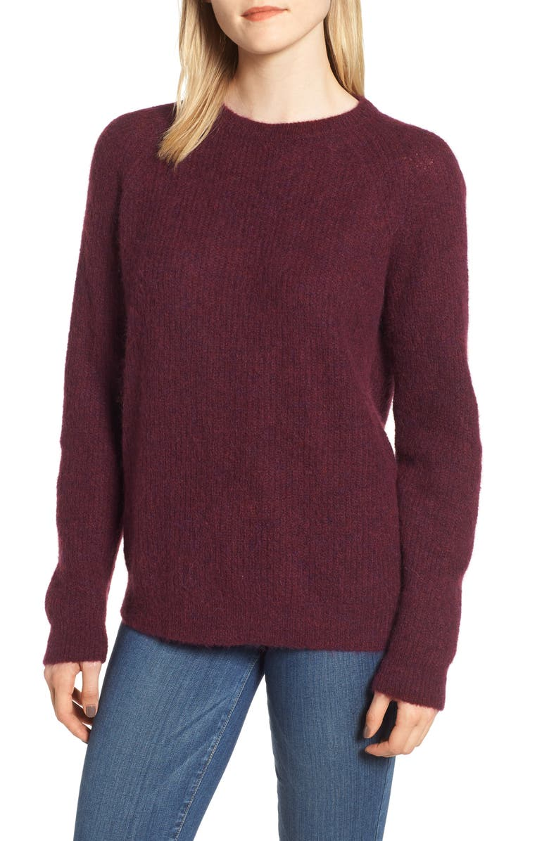 BARBOUR Olivia Crewneck Sweater, Main, color, 930