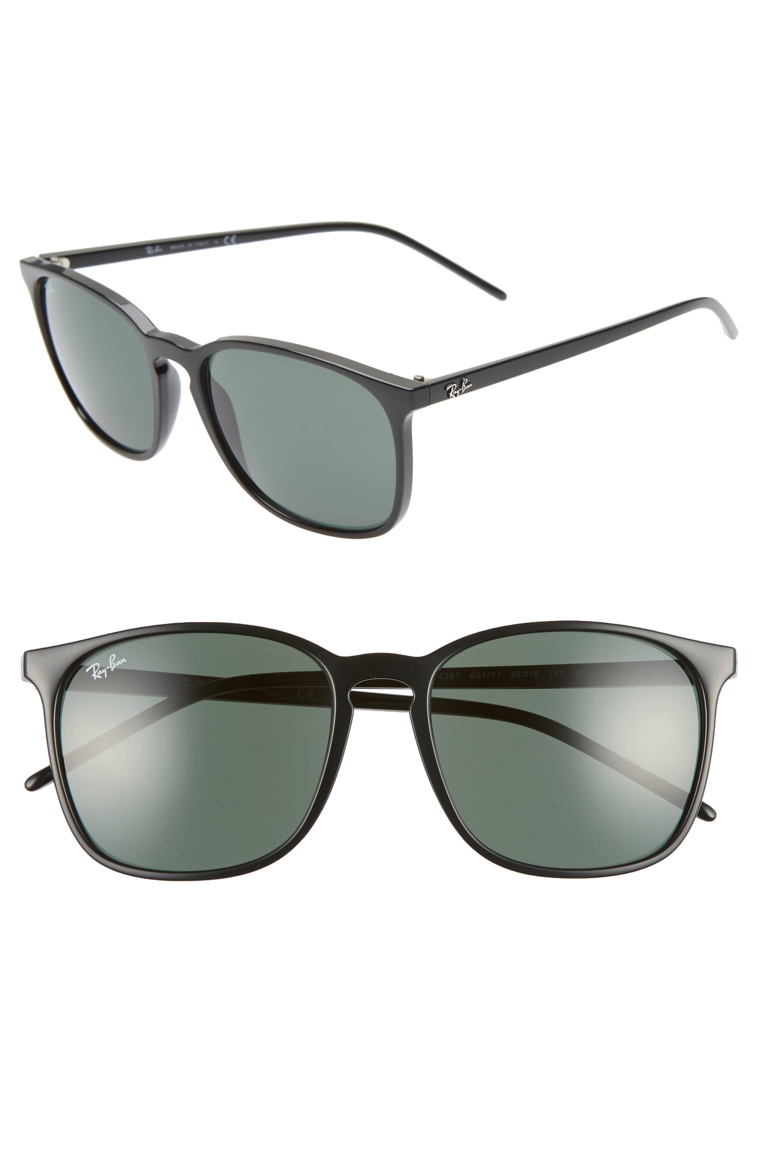 Ray-Ban Phantos 5m Sunglasses - Black