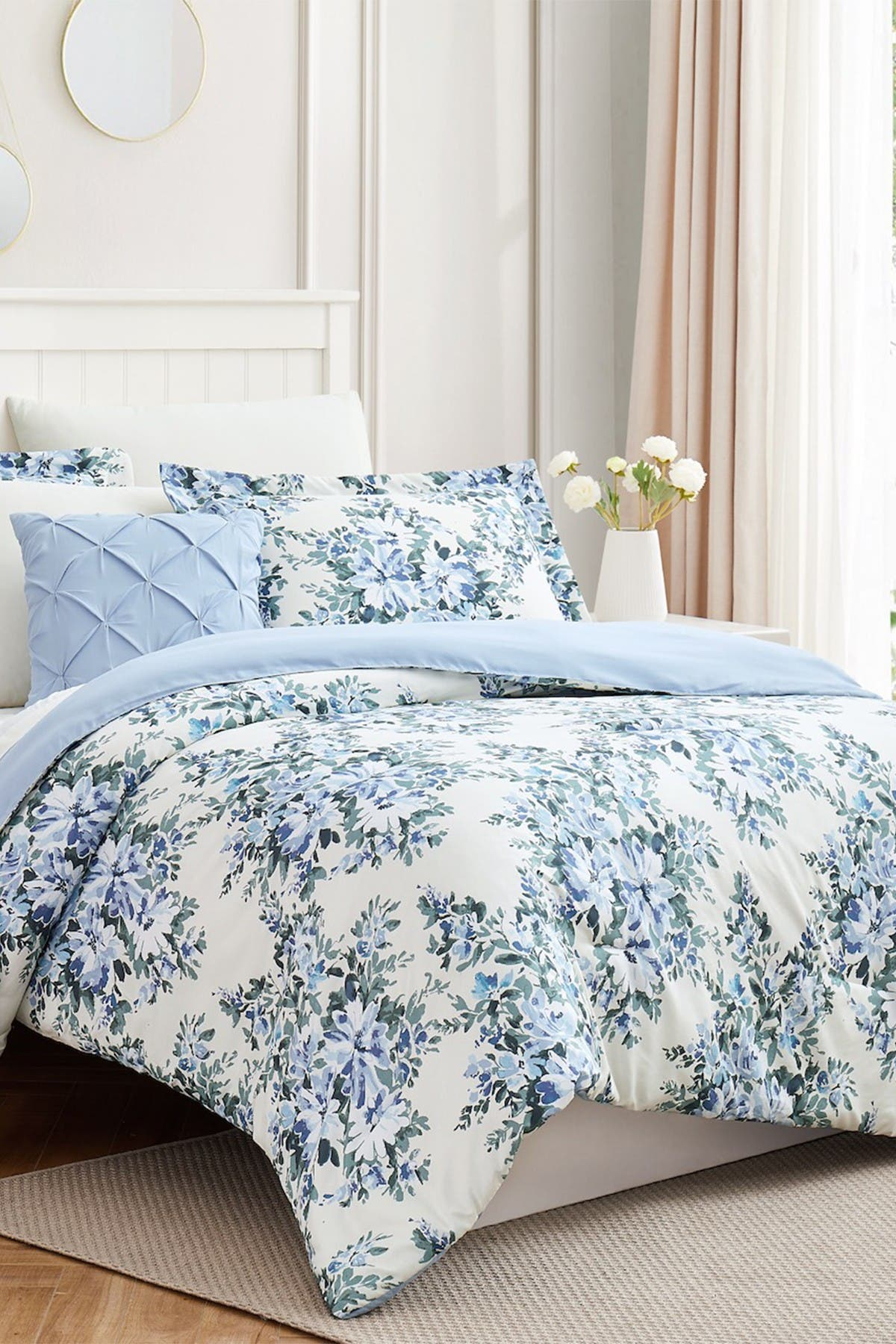Image of Modern Threads Complete 8-Piece Bedding Set - Leela - Full