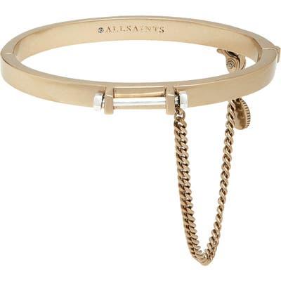 Allsaints Bar Hinged Bangle Bracelet