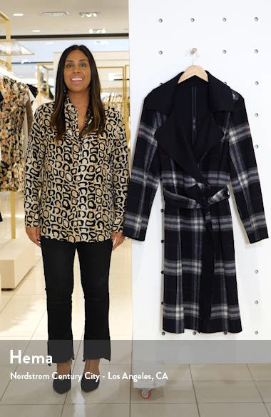 Plaid Belted Coat, sales video thumbnail