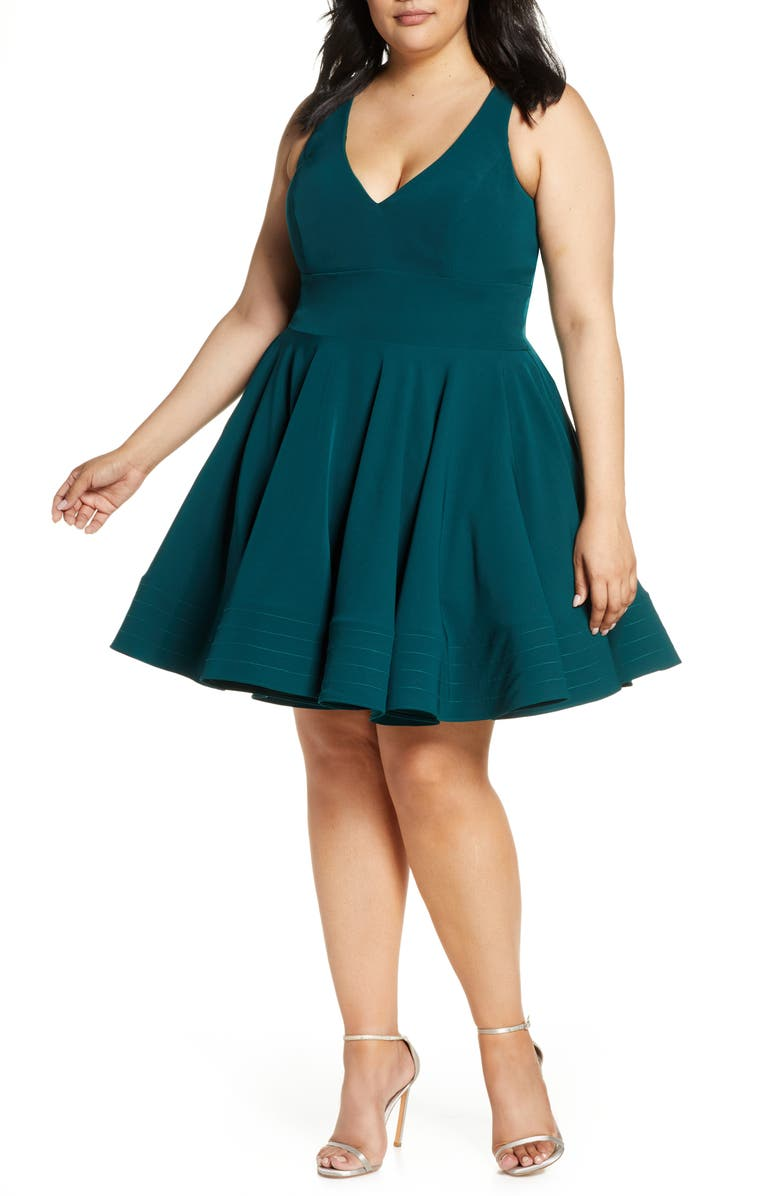 Fit & Flare Party Dress