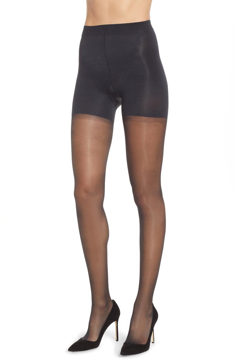 SPANX<SUP>®</SUP> Firm Believer Regular Waist Sheers, Main, color, 001