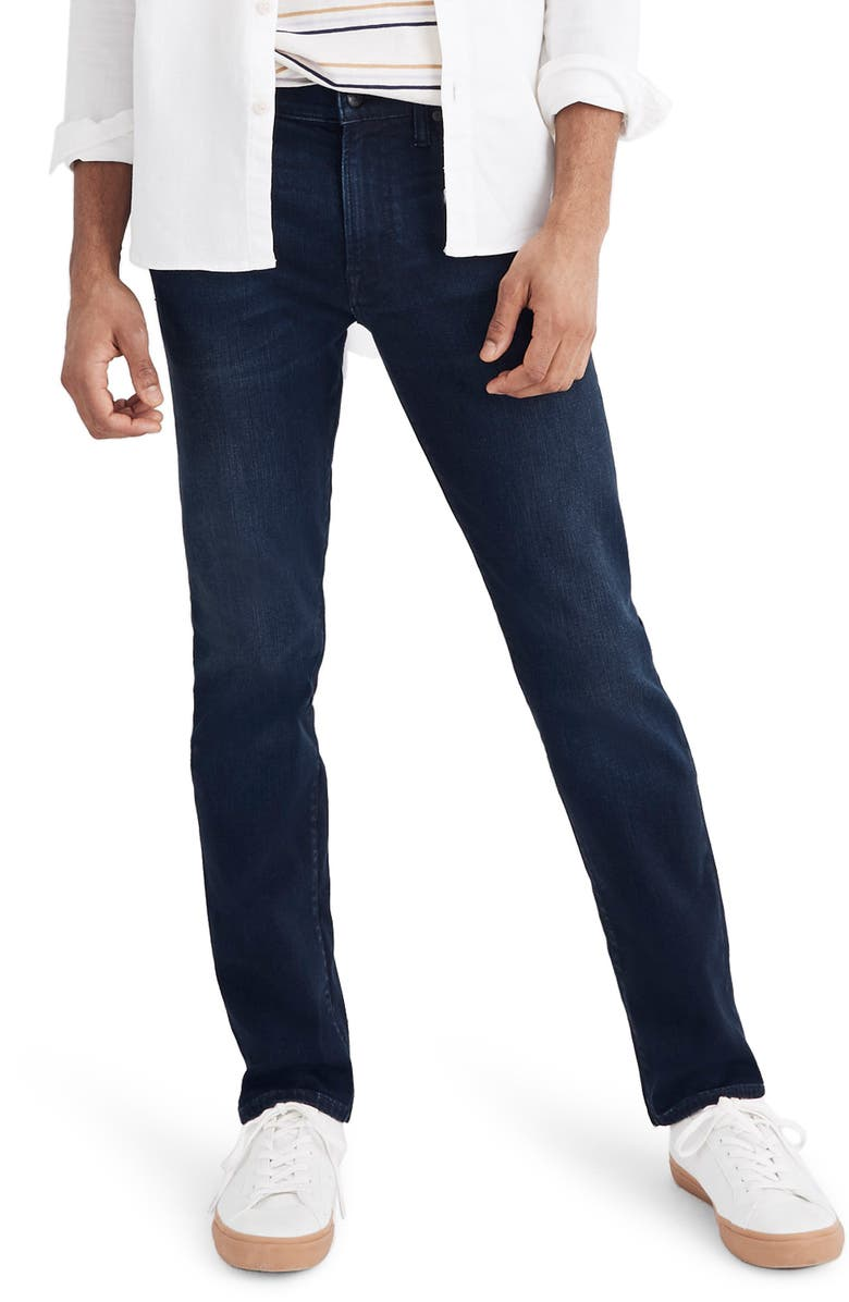 MADEWELL Slim Fit Jeans, Main, color, PAXON