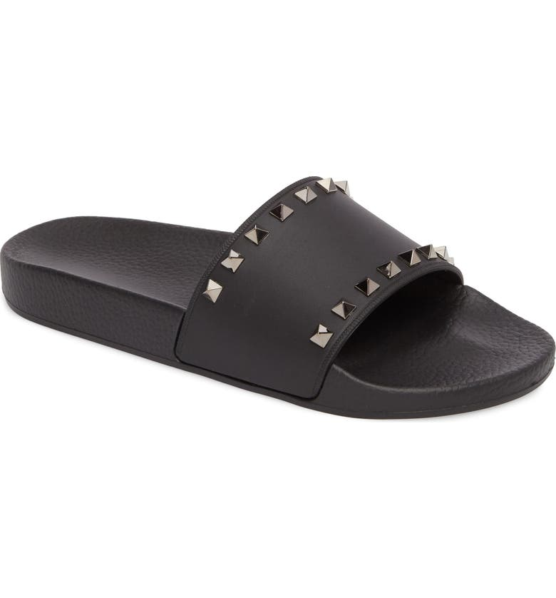 49bc451965f VALENTINO GARAVANI Rockstud Slide Sandal (Women) | Nordstrom