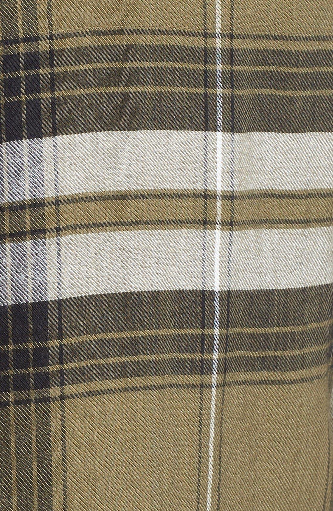 ,                             Plaid Tunic Shirt,                             Alternate thumbnail 22, color,                             315