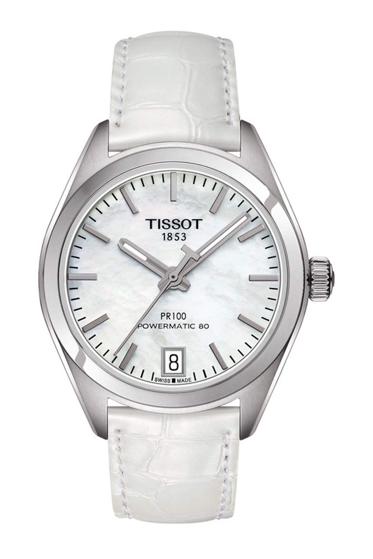Image of Tissot Women's PR 100 Powermatic 80 Watch, 33mm