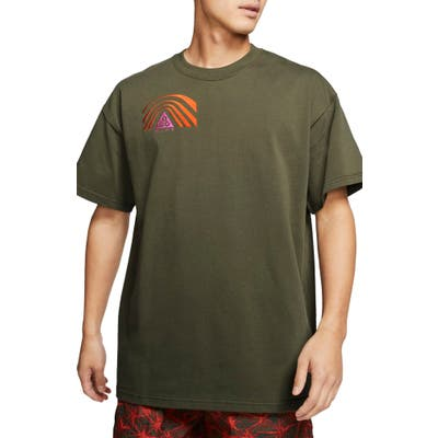 Nike All Conditions Gear Outdoor Embroidered T-Shirt, Green