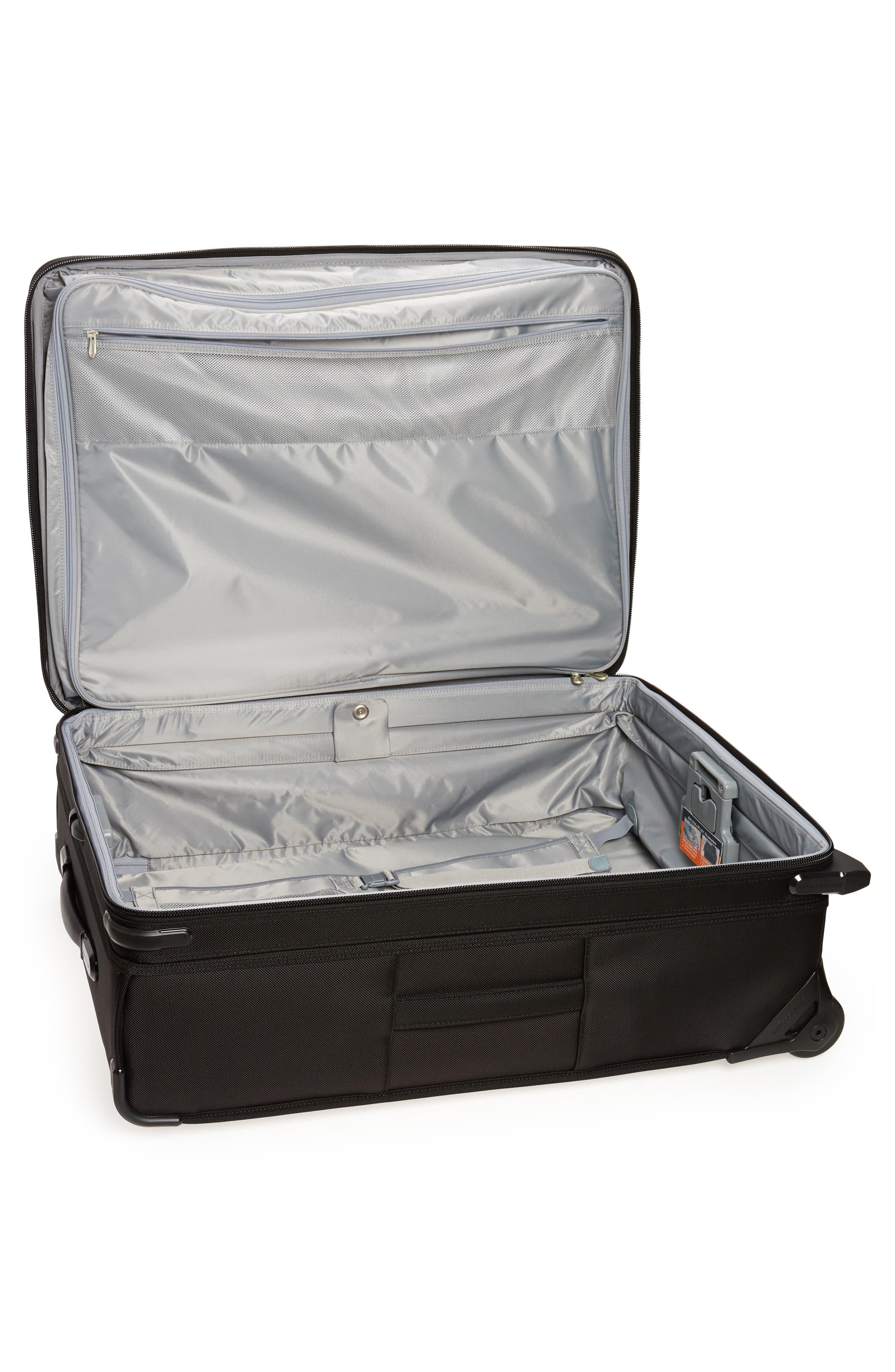 ,                             Large Baseline Expandable 28-Inch Rolling Packing Case,                             Alternate thumbnail 2, color,                             BLACK