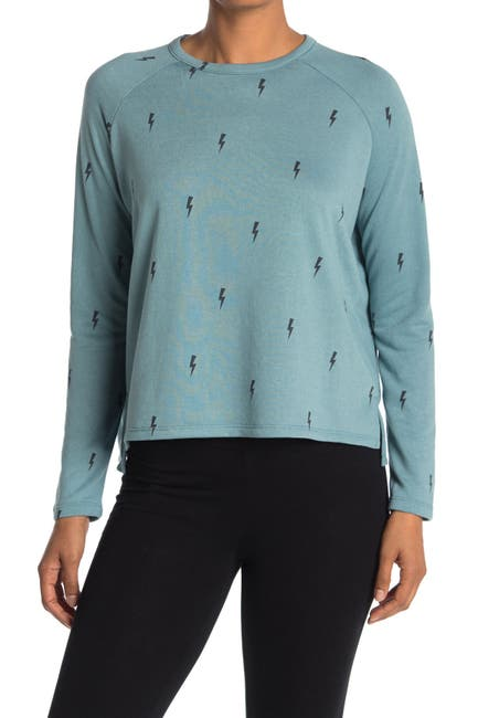 Image of Theo and Spence Lightning Bolt Lounge Pullover