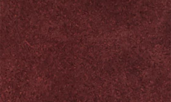 SUGAR RED SUEDE