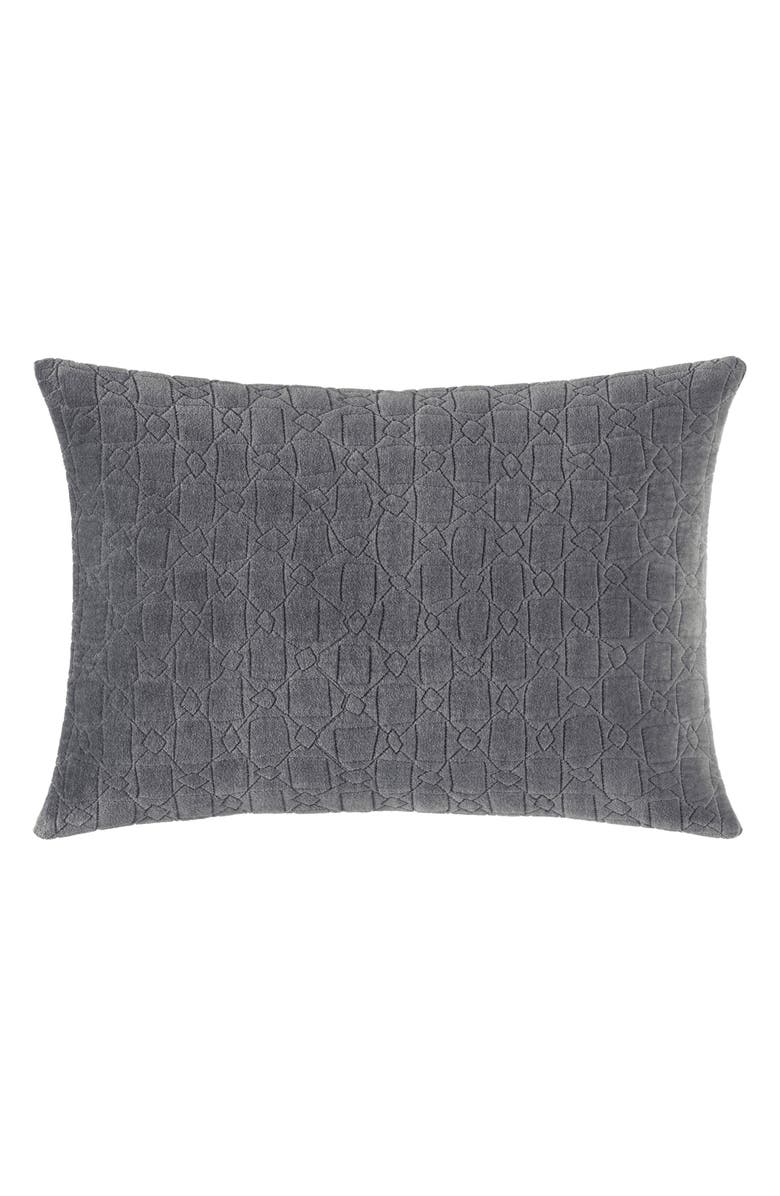 VERA WANG Mélange Gauze Quilted Breakfast Pillow, Main, color, 021