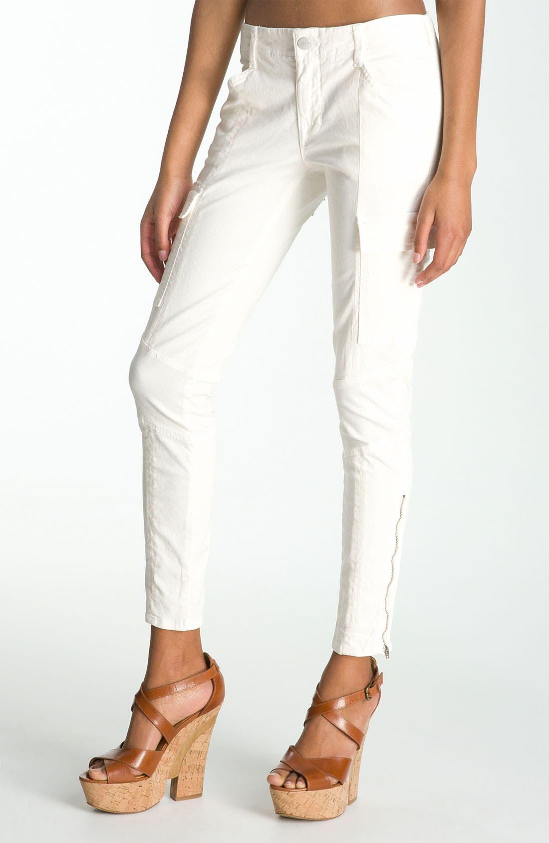 ,                             'Houlihan' Skinny Stretch Cotton Cargo Pants,                             Main thumbnail 3, color,                             104
