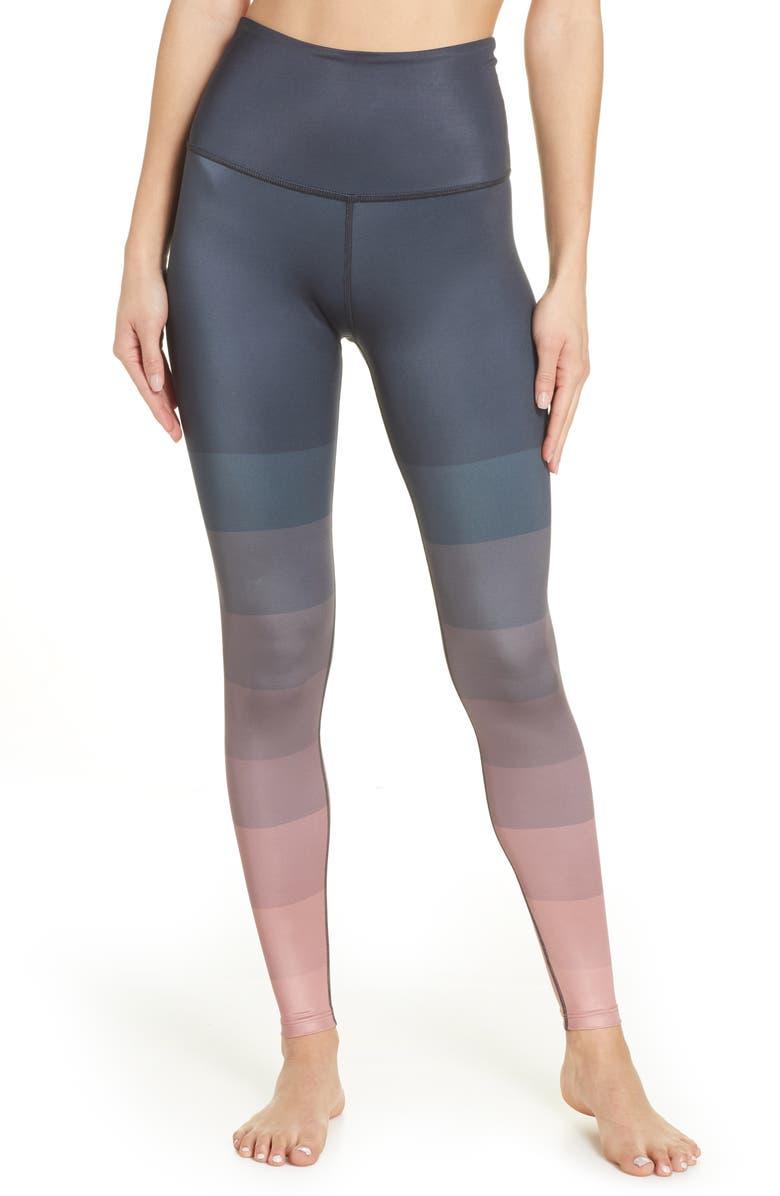 BEYOND YOGA Lux High Waist Leggings, Main, color, 020