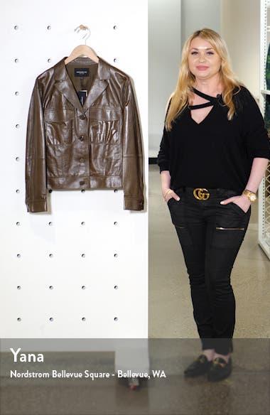 Theodosia Leather Jacket, sales video thumbnail