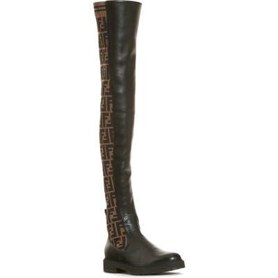 Fendi Rockoko Over The Knee Boot