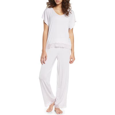 Nordstrom Moonlight Lace Trim Pajamas
