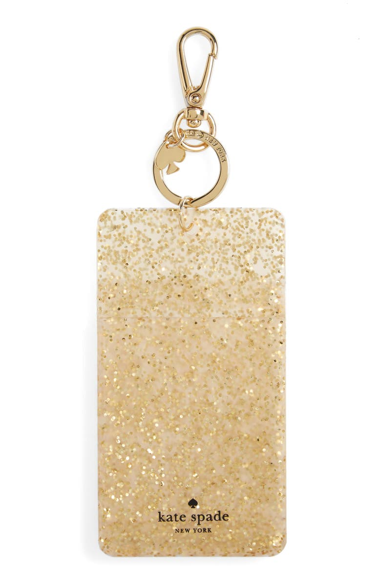 KATE SPADE NEW YORK 'why hello there' ID clip, Main, color, 711
